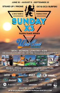 SUNDAY SUP RACE POSTER